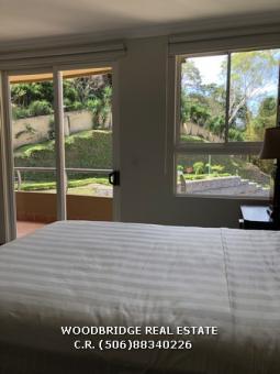 Escazu Costa Rica condominios en alquiler, alquiler condominios amueblados Escazu CR, CR bienes raices alquiler de condominios en Escazu,